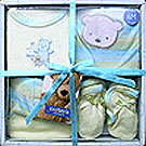 4 Pcs Towel Set for New Borns<br> (Cotton Fabric) to Bangalore