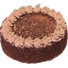 Classic fresh Chocolate flavor Eggless Cake   to Delhi
