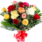 Fresh Assorted Flowers Bunch <br> to Gurgaon
