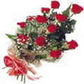 Dozen Exclusive Red Dutch Roses  to Yamunanagar