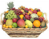 Fresh Fruits Basket 5 Kg to Bhavani