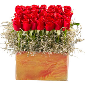 Exclusive Red Roses Arrangement  to Chittoor