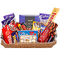 Tasty assorted chocolates gift hamper to Udaipur
