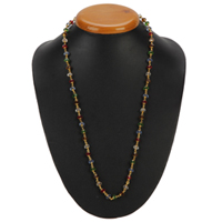 Graceful Beaded Necklace for Women to Aluva