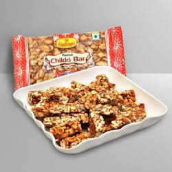 Dry Fruits Chikki from Haldiram to Ahmedabad