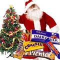 Christmas Tree, Santa N Chocolates to Ballabhgarh
