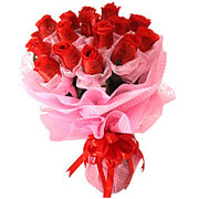 Long Lasting � Red Roses Bouquet  to Ahmedabad
