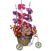 Attractive Pink and Purple Artificial Flowers to Gurgaon