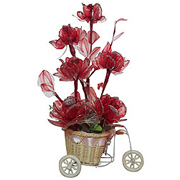 Attention-Getting Long Lasting Flowers in Red to Gurgaon