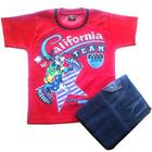 Red Kidswear for Boy to Barnala