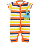 Gaudy Kids Romper by MiniKlub to Akola