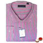 Peter England Striped Shirt (full shirt) with free Roli Tilak and Chawal. to Baroda