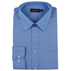 Formal Full Shirt from 4Forty in Blue Color to Palladam