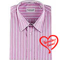 Full Striped Shirt in Pink from Arrow to India