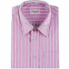 Full Striped Shirt in Pink from Arrow to Bareilly