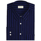 Full Striped Party Wear shirt in Dark shade from Arrow to Ranchi