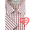 Half check shirt in Red & white from Arrow to India