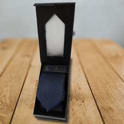 Sequined Designer Tie and Cufflink to Indore