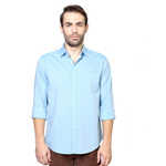 Plush Blue Shirt from the Reputed Brand Peter England to Bandipore