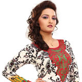 Remarkable White Coloured Cotton Printed Kurti to Pappanaickenpalayam
