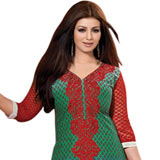 Extravagant Salwar Kameez in Red Colour to Purulia