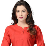 Soothing Enigma Cotton Kurti to Bangalore