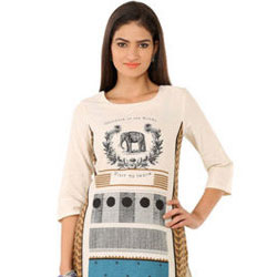 Colour Block Kurti by Wills Lifestyle to Anantapur