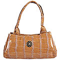 Fashionable Brown Ladies Hand Bag to Palampur