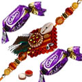 Zardozi Rakhi with 2 Chocolates to Rakhi_to_canada.asp
