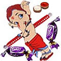 One Lord Ganesha Rakhi with 2 Chocolates, Roli Tikka  to Rakhi_to_canada.asp