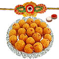 Boondi Laddoo with Rakhi to Rakhi_to_canada.asp