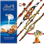 Ultimate Combo of Bhaiya N Kid Rakhi With Lindt Swiss Chocolate Bar to Rakhi_to_canada.asp
