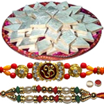 Two Significant Rakhi With Delish Soan Papdi to Rakhi_to_canada.asp