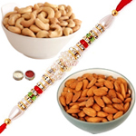 Delectable Almonds , Cashews With Rakhi to Rakhi_dry_canada.asp