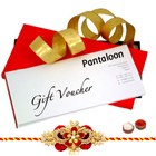 Pantaloons Gift Vouchers Worth Rs 1000 with 1 free Rakhi to Cochin