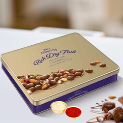 Cadburys Celebration Rich Dry Fruits Collection Tin to Anand
