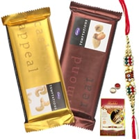 Cadburys Temptations with Rakhi and Roli Tilak Chawal to Bangalore