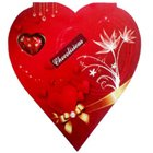 Red Heart Shape Pack of Assorted Homemade Chocolates to Udaipur