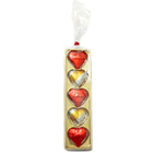 Golden Heart Shaped Pack of Assorted Homemade Chocolates to Abohar
