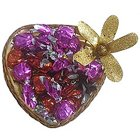 Chocolate Taste Mixed with in Heart Shaped Pack to Amaraoti