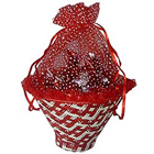 Attractive Chocolate Basket in Red to Belapur Road