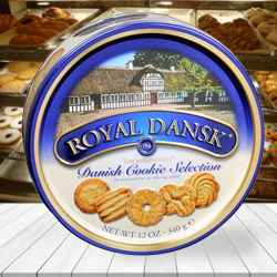 Royal Dansk Assorted Cookies to India