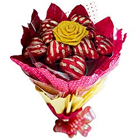Tasty Love Special 12 Pcs Heart Shaped Chocolates Bouquet to Addanki