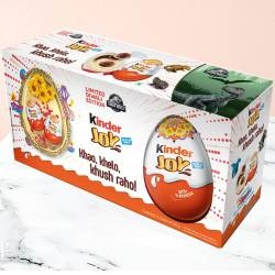 Mouth-Watering Kinder Joy Chocolates Pack 6 Pcs. to Gurgaon