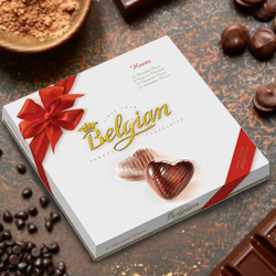 Rich Belgian Chocolates with Love Fantasy to Bakhtiarpur