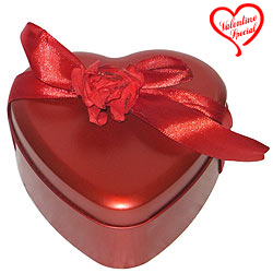 Angelic Heart Shaped Chocolate Gift Box to Behrampur