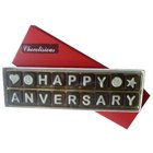 Marvelous Happy Anniversary SMS Chocolates to Ancharakandy
