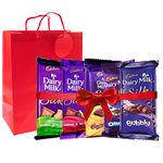 Yummy Cadbury Dairy Milk Collection to Ambala