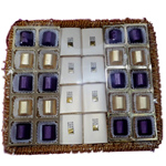 Exquisite 28 pcs. Handmade Chocolates in a Tray to Balkum