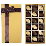 Sublime 18 Pcs. Homemade Chocolates Box to Rajkot